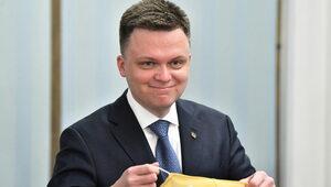 """""""Pasmo błyskawicznych sukcesów"""". Niemiecki dziennik o Hołowni"""