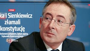 Belka i Sienkiewicz złamali konstytucję