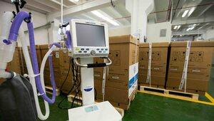 50 respiratorów od Polpharmy dla polskich szpitali: jeszcze w tym tygodniu