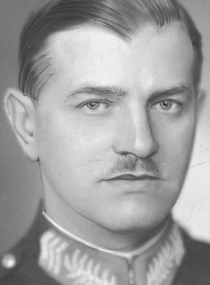 Aleksander Reszczyński, 1936r.