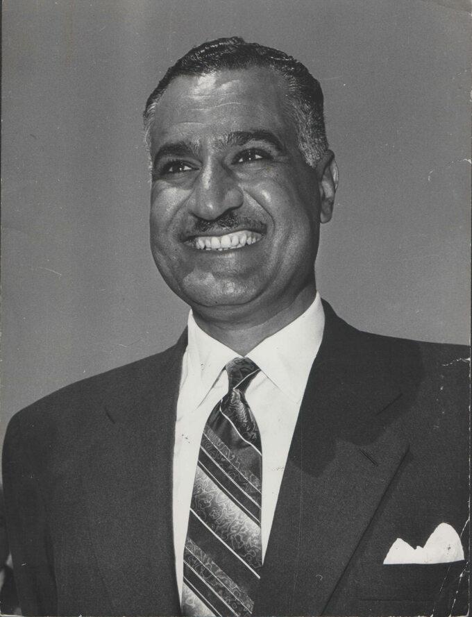 Gamal Abdel Naser, prezydent Egiptu (1956-1970)