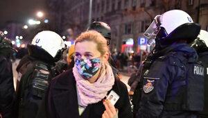 Nie będzie śledztwa ws. użycia gazu wobec Nowackiej