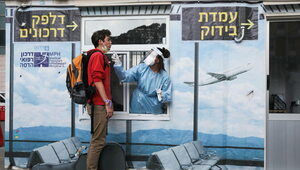 Izrael wprowadza trzecią dawkę szczepionki dla seniorów