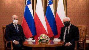 Prezes PiS spotkał się z premierem Słowenii