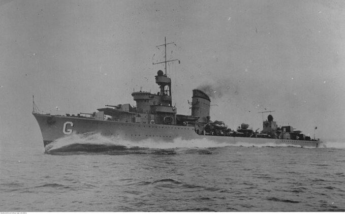 ORP Grom w1937 roku.