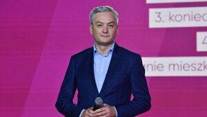 Biedroń udostępnia skandaliczną grafikę z Kaczyńskim