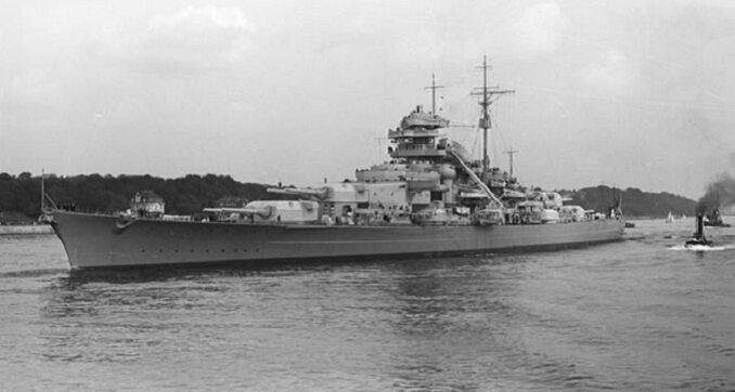 Bismarck, 1940r. Fot. Bundesarchiv, Bild 193-04-1-26 / CC-BY-SA 3.0