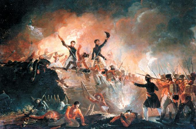 E.C Watmough, Szturm naFort Erie (wojna brytyjsko-amerykańska, 1814 rok)