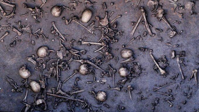 Wykopaliska wmiejscu bitwy nad Dołężą (Tollense)