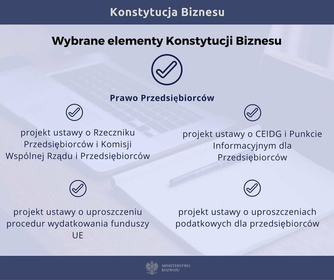Wybrane elementy Konstytucji Biznesu