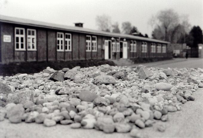 Jeden zbaraków wKL Mauthausen