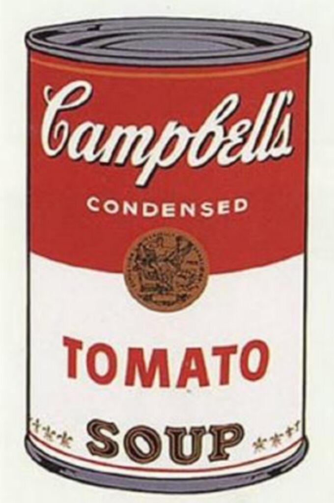 A. Warhol, Zupa Campbell