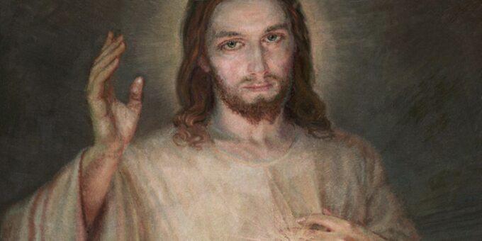 """Obraz """"Jezu, ufam Tobie"""""""