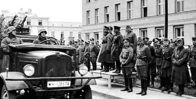 1939, defilada sowiecko-niemiecka