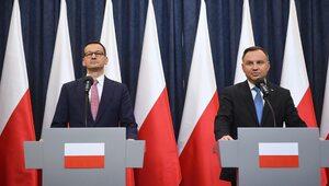 Dr hab. Biskup: Morawiecki w pewnym momencie kampanii stanowił prawie...