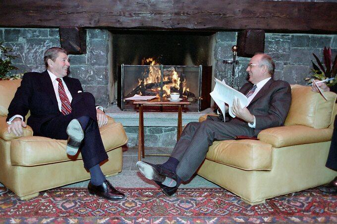 Ronald Reagan iMichaił Gorbaczow, Genewa 1985 rok