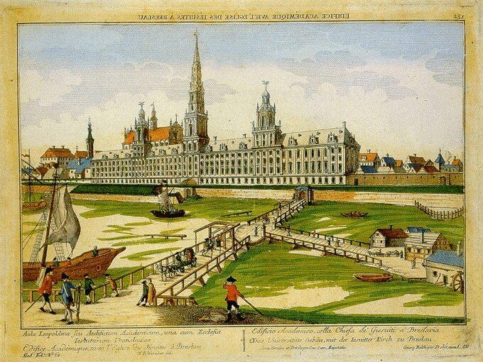Uniwersytet Wrocławski, 1760r.