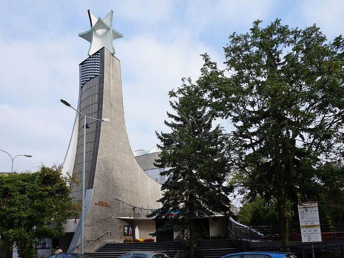 Kościół św. Wawrzyńca weWrocławiu. Fot. Ludwik Rey