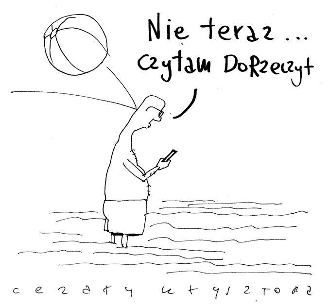 """""""Nie teraz... czytam DoRzeczy+"""". Czytanie jest dorzeczy!"""