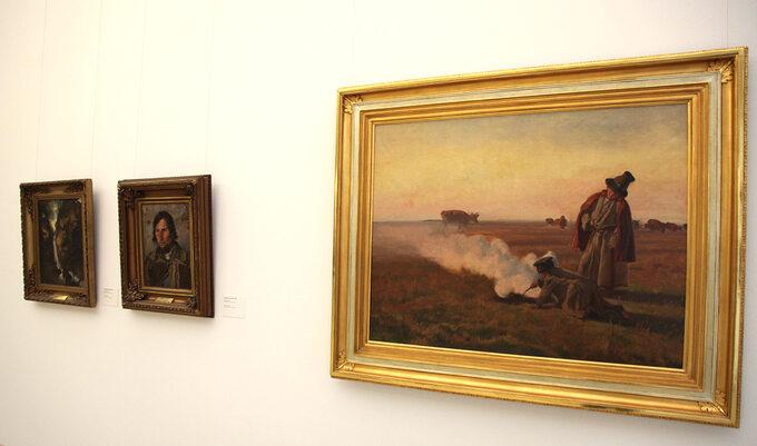 Józef Chełmoński, Jesień (Muzeum Narodowe wPoznaniu)