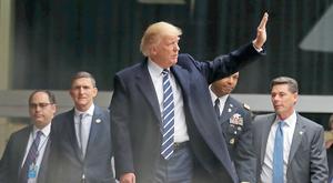 Ciemne chmury nad Trumpem