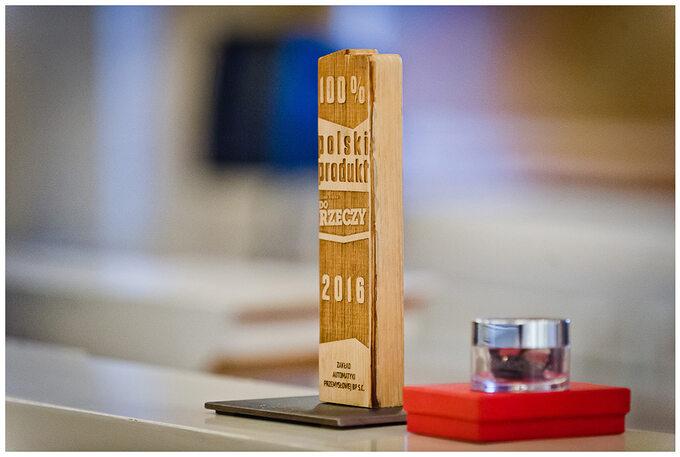 """Nagroda """"100% Polski Produkt"""" tygodnika """"Do Rzeczy"""""""