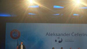 Aleksander Čeferin nowym szefem UEFA
