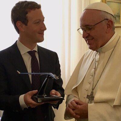Założyciel Facebooka na audiencji u papieża