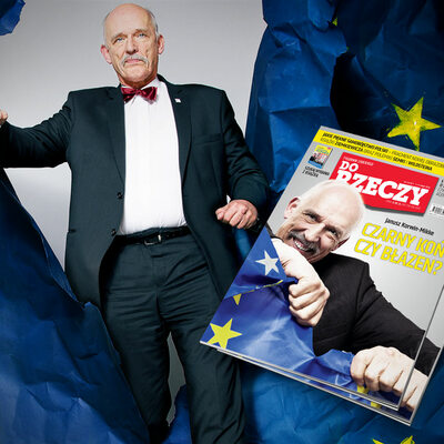"""Korwin-Mikke dla """"Do Rzeczy"""": zrobimy burdel w Komisji Europejskiej"""