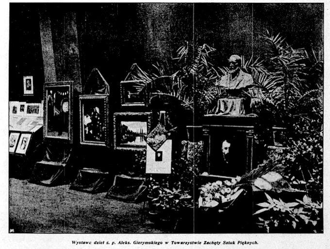 Wystawa dzieł A. Gierymskiego