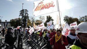 """Protest """"Solidarności"""" w Luksemburgu. """"Funkcjonariusze byli zdumieni"""""""