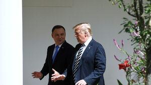 Przed spotkaniem Duda-Trump