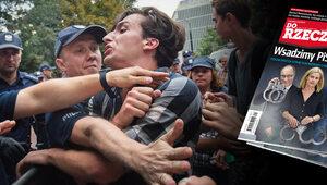 """Jak wykreować męczennika antyrządowych protestów? O tym w """"Do Rzeczy"""""""