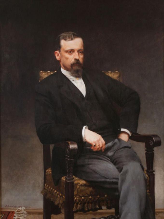 Kazimierz Pochwalski, Portret Henryka Sienkiewicza