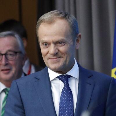 Tusk pokazał kanclerzowi Austrii wynik meczu z Polską. Oto, jak zareagował