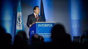 Szef Interpolu zatrzymany w Chinach. Żonie wysłał dziwną wiadomość i...