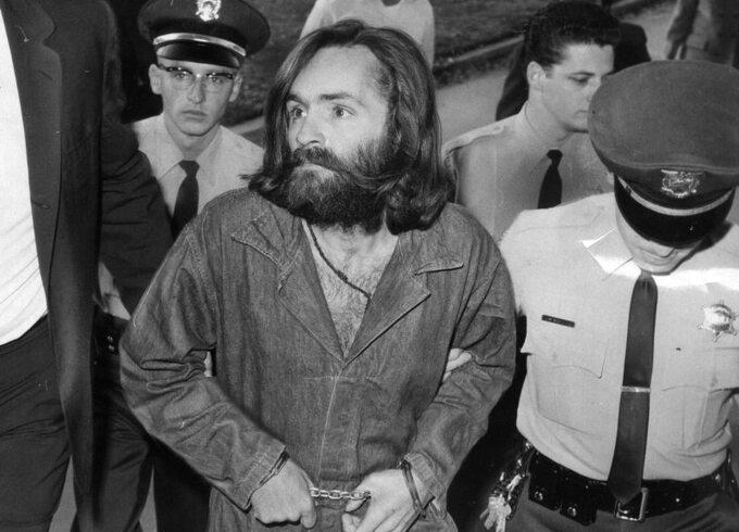 Charles Manson w1969 roku