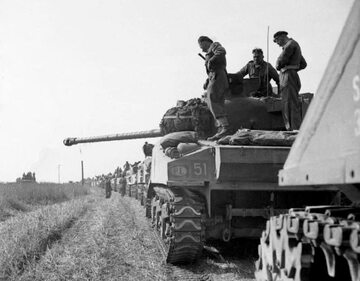 1. Dywizja Pancerna w Normandii w 1944 r.