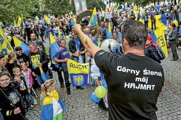10. Marsz Autonomii Śląska w Katowicach w 2016 r.