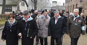 73. rocznica wyzwolenia niemieckiego obozu zagłady Auschwitz