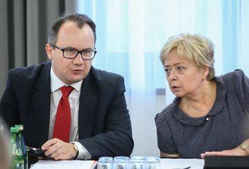 Adam Bodnar i Małgorzata Gersdorf