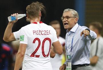 Adam Nawałka i Łukasz Piszczek