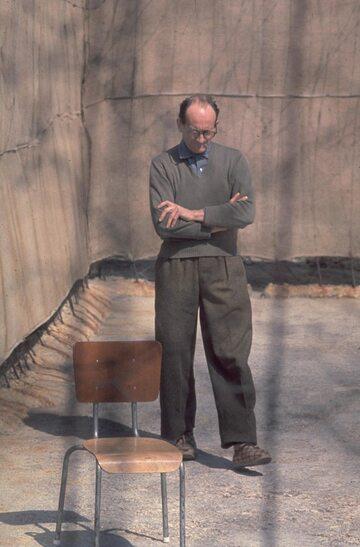 Adolf Eichmann w izraelskim więzieniu, 1961 rok
