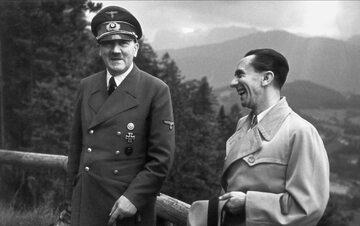 Adolf Hitler i Joseph Goebbels