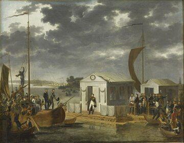 Adolf Roehn, Spotkanie Napoleona I i Aleksandra I nad Niemnem