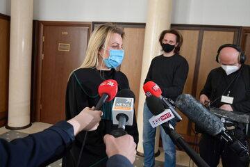 Adwokat Joanna Broniszewska, obrońca Sławomira Nowaka