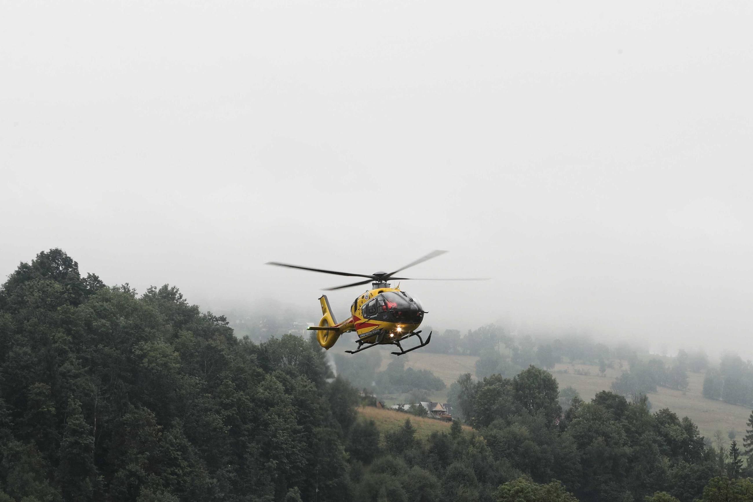 Akcja ratownicza w Tatrach