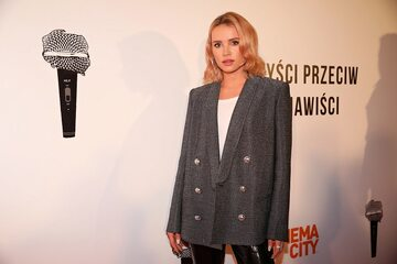 Aktorka i blogerka Julia Kuczyńska (Maffashion)