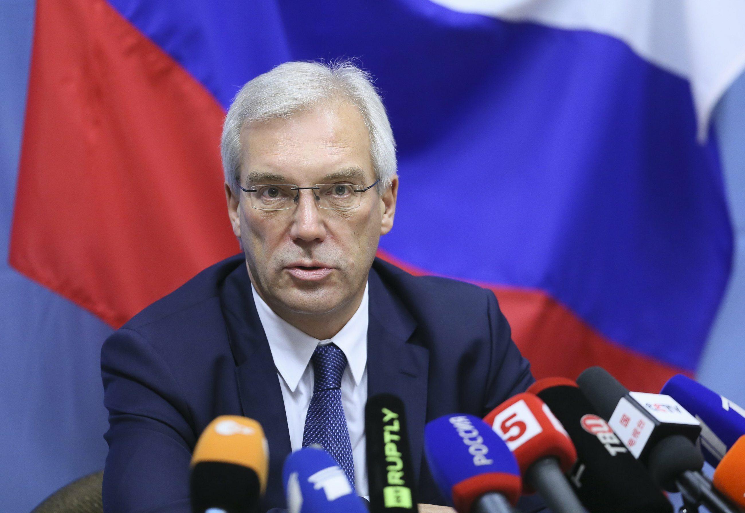 Aleksandr Gruszko, wiceminister spraw zagranicznych Rosji