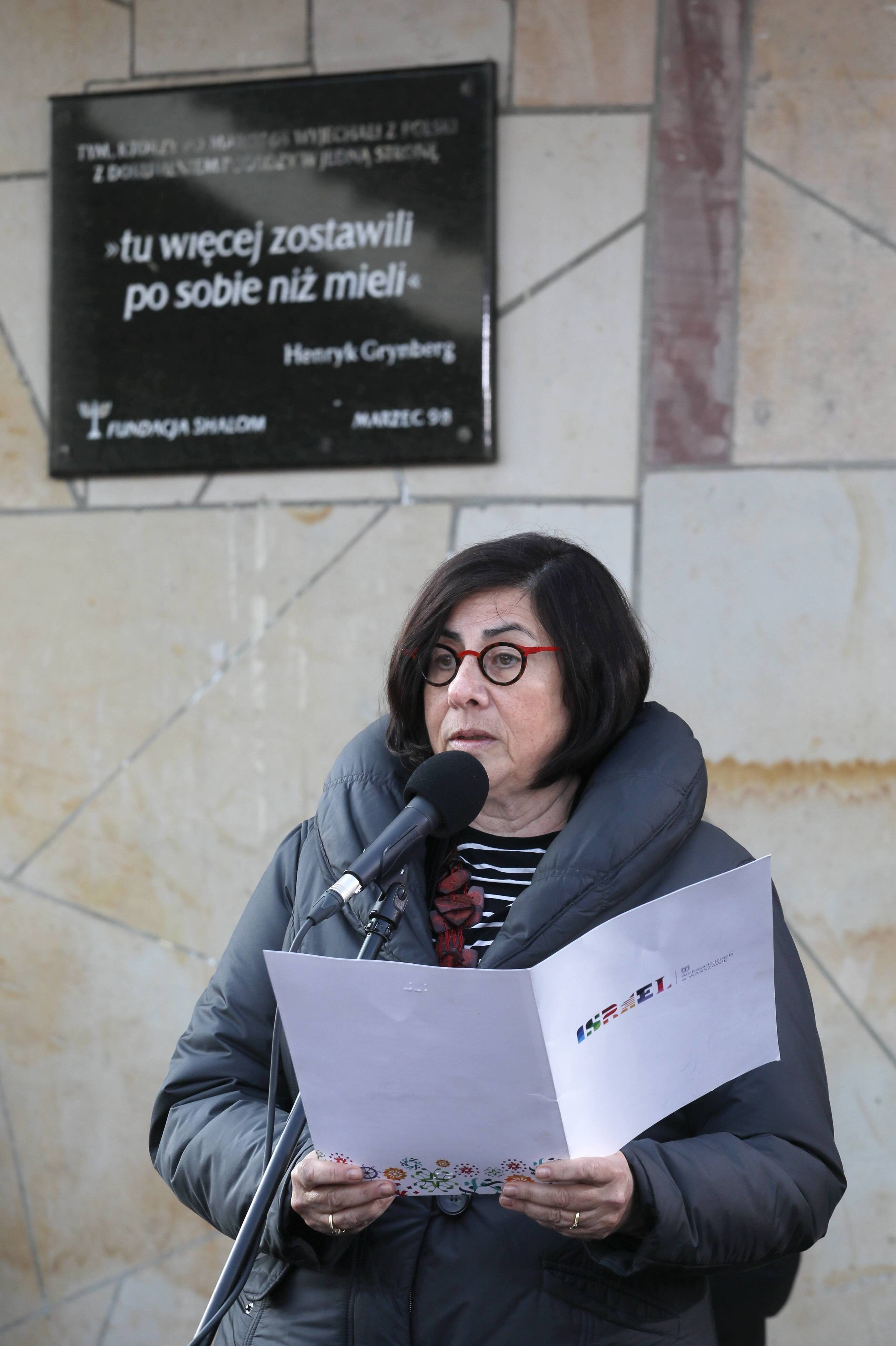 Ambasador Izraela w RP Anna Azari
